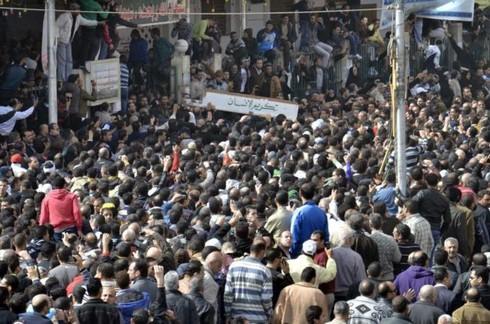 Ai Cập ban bố tình trạng khẩn cấp - ảnh 1