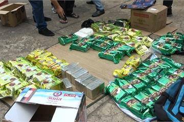 BĐBP triệt phá đường dây ma túy lớn từ Campuchia về Việt Nam