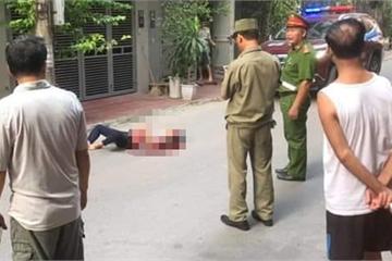 Hà Nội: Nam thanh niên đâm chết 2 cô gái rồi nhảy lầu tự tử
