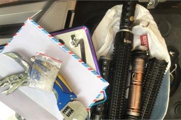 Nam thanh niên đi xe SH không biển số mang ma túy bị Cảnh sát 141 phát hiện