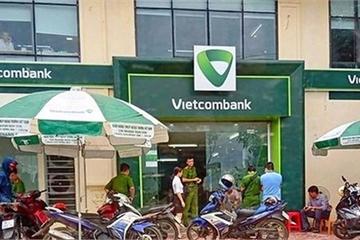 Trung úy công an cướp ngân hàng Vietcombank bị khởi tố tội cướp tài sản