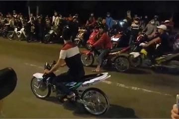 """""""Quái xế"""" đua xe ở Hà Nội sẽ bị ghi hình, bêu tên"""
