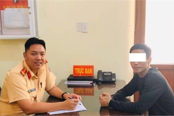"""""""Phượt thủ"""" khoe đi xuyên Việt hết hơn 19h bị Cục CSGT 'bóc mẽ'"""