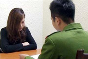 Nữ nhân viên PG môi giới bán dâm bị cơ quan công an bắt