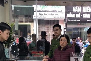 """""""Nữ quái"""" lừa đảo, chiếm đoạt tài sản của 3 cửa hàng vàng ở Hà Nội"""