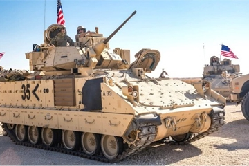 """Syria xuất hiện nhiều biến số khi Mỹ đưa lực lượng """"khủng"""" đến đây"""