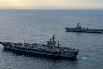 Lực lượng khủng của Mỹ tề tụ ở Trung Đông để thể hiện điều gì?