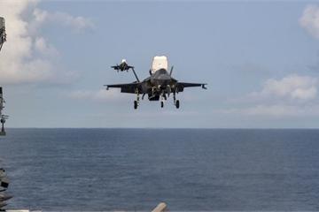 F-35B Mỹ tiếp tục phô trương sức mạnh ở Biển Đông, răn đe Trung Quốc