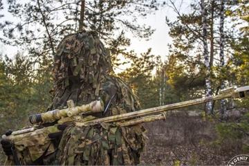 """Chiến thuật """"dị"""" của Nga giúp lính bắn tỉa """"hạ gục"""" trực thăng tấn công"""