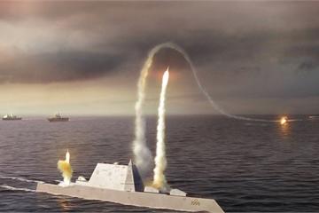 """Chức năng thật sự của siêu chiến hạm DDG1000 Mỹ gây """"sốc"""""""