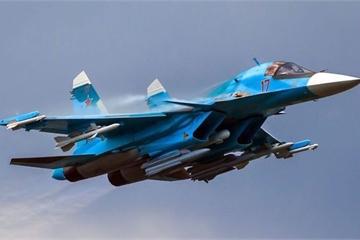 """""""Thú mỏ vịt"""" Su-34 - người hùng thầm lặng của Nga tại Syria"""