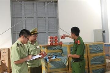 Thanh Hóa: Bắt gần 7.000 hộp shinsa từ Nam ra Bắc tiêu thụ