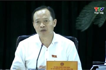 Bí thư tỉnh Thanh Hóa: Rà soát rừng phòng hộ mà chỉ ngồi một chỗ, đeo kính khoanh vùng