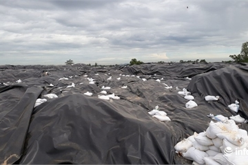 Thanh Hóa: Bãi rác của TP Sầm Sơn quá tải, ô nhiễm nghiêm trọng