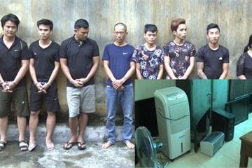 Thanh Hóa: Bắt 8 đối tượng trong 'ổ nhóm' gây ra 20 vụ trộm cắp tài sản