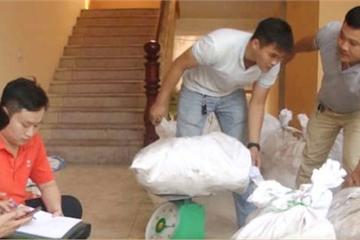 Cận cảnh kho hàng toàn loa thùng, nơi cất giấu 700kg ma túy đá ở Nghệ An