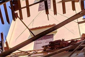 Thanh Hóa: Lốc xoáy kinh hoàng lúc rạng sáng, 2 mẹ con thương vong