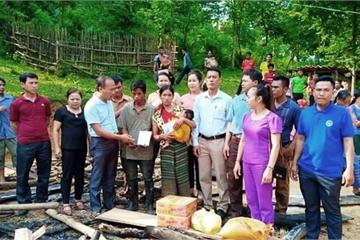 Nghệ An: Người mẹ ôm 3 con nhỏ thoát khỏi căn nhà cháy ngùn ngụt lúc rạng sáng