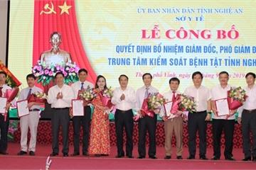 Hợp nhất 6 đơn vị thành Trung tâm Kiểm soát bệnh tật tỉnh Nghệ An