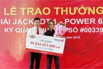 Vietlott trao giải Jackpot 1 hơn 80 tỷ đồng cho khách hàng ở Nghệ An