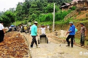 Đề án xây dựng NTM 27 xã biên giới Nghệ An: Vẫn còn nhiều khó khăn, thách thức