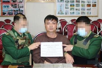 Bắt đối tượng vận chuyển trái phép 4 bánh heroin ở ven biển Nghệ An