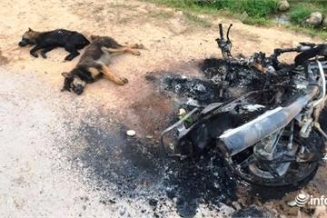 """Nghệ An: Dân làng vây bắt, đánh 2 """"cẩu tặc"""" thương vong"""