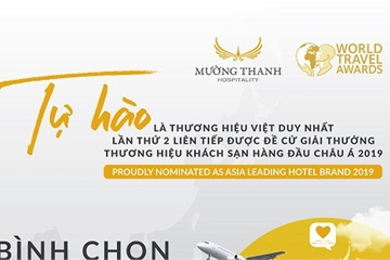 Bình chọn cho Mường Thanh tại WTA, nhận cơ hội bay tới Viêng Chăn