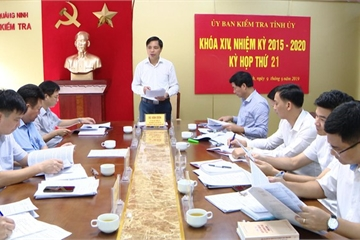 Tỉnh ủy Quảng Ninh yêu cầu xử lý kỷ luật hàng loạt đảng viên vi phạm