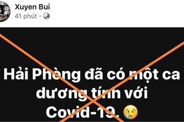 Sáng lên Facebook tung tin nhảm về Covid-19, chiều bị phạt 15 triệu đồng