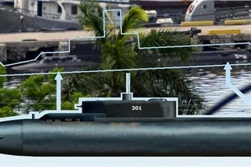 Hé lộ hình ảnh tàu ngầm bí mật nhất thế giới của hải quân Cuba
