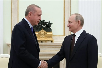 Lãnh đạo Nga và Thổ Nhĩ Kỳ đồng ý về thỏa thuận ngừng bắn ở Syria