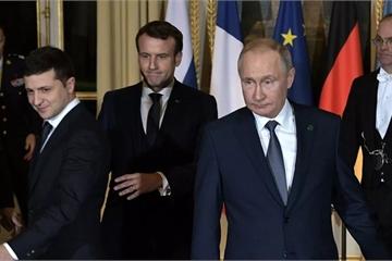 """Tổng thống Ukraine Zelensky """"trách móc"""", không coi ông Putin là đối tác"""