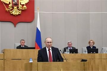 Hạ viện Nga phê chuẩn luật sửa đổi hiến pháp, giúp ông Putin tiếp tục tranh cử