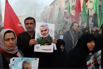 """Iran """"bất ngờ"""" tuyên bố tiếp tục trả thù vụ ám sát Tướng Qasem Soleimani"""