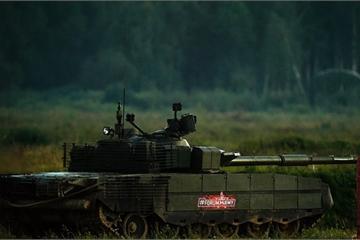 """Quân đội Nga sắp được trang bị """"siêu"""" xe tăng T-90M phiên bản mới nhất"""