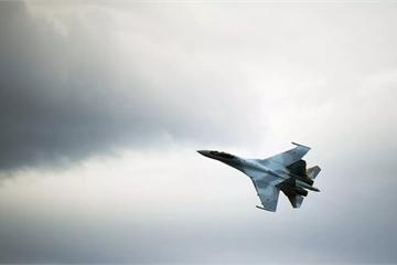 """Tiêm kích Su-35 của Nga """"chạm mặt"""" máy bay Mỹ đầy nguy hiểm"""