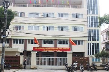 Một cán bộ Ủy ban Kiểm tra Tỉnh ủy Quảng Nam tử vong tại cơ quan