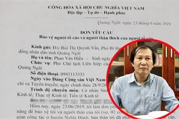 Quảng Ngãi: Nguyên Phó Bí thư Huyện ủy bị nhắn tin đe dọa