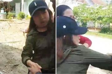 Thông tin mới vụ cô gái cầm cây đánh cụ ông 74 tuổi ngã xuống đất