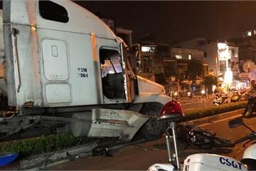 TP.HCM: Tài xế container dùng ma túy gây tai nạn chết người