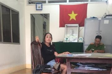 """Tạm giữ nhóm người từ TP.HCM xuống Vĩnh Long bắt """"con nợ"""""""