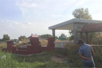 Công an TP.HCM tìm tung tích nạn nhân bị đốt trong nghĩa trang