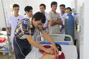 Bác sĩ trung ương về tuyến huyện, nhiều bệnh nhân được cứu sống
