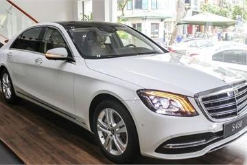 Giá lăn bánh các phiên bản Mercedes S-Class 2019 tại Việt Nam