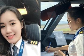Nữ cơ phó 9x xinh đẹp của hàng không Việt: Không nghĩ mình sẽ làm và có thể làm được
