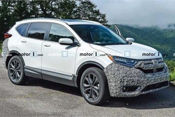 Honda CR-V 2020 lần đầu lộ diện trên đường thử