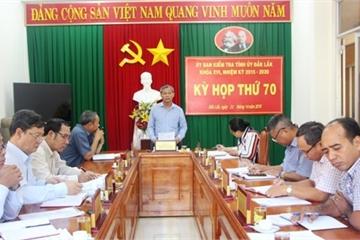 Đắk Lắk: Không kỷ luật phó công an huyện vì hết thời hiệu