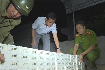 Phát hiện hàng ngàn bao thuốc lá lậu tại nhà riêng ở Đắk Lắk