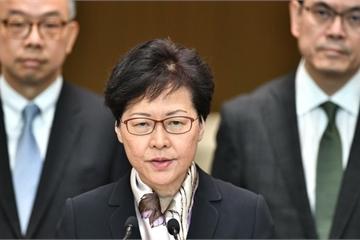 Giữa lúc biểu tình sục sôi, Trưởng đặc khu Hong Kong lên tiếng